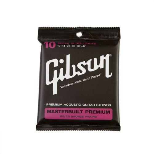 GIBSON SAG-MB10 MASTERBUILT PREMIUM 10-47 BRONZE 80/20