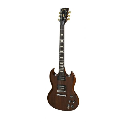 GIBSON SG TRIBUTE 70'S MIN-ETUNE CHOCOLATE VINTAGE GLOSS
