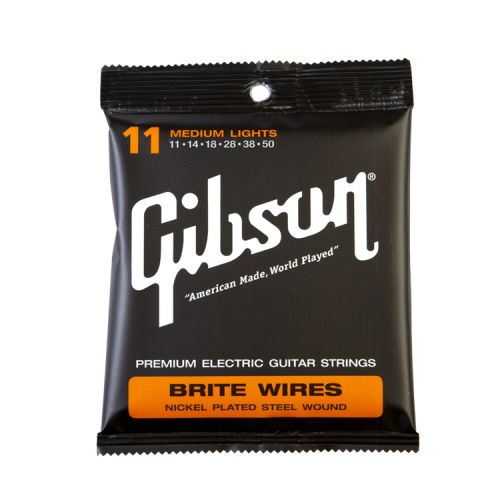 GIBSON SEG-700ML BRITE WIRES 11-50 MEDIUM LIGHT