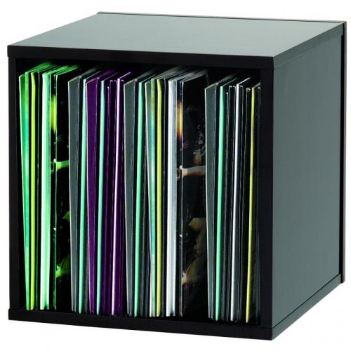 GLORIOUS DJ RECORD BOX BLACK 110 VINYLES