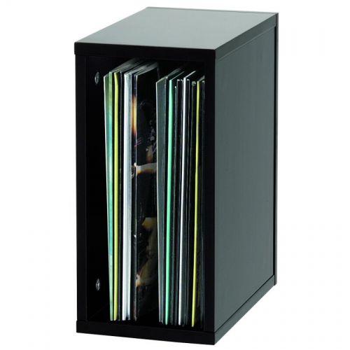 GLORIOUS DJ RECORD BOX BLACK 55 VINYLES