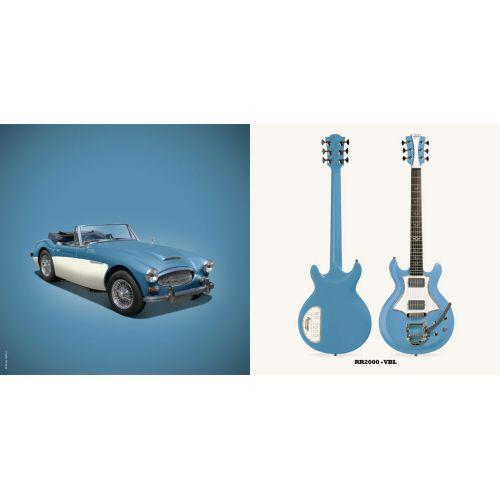 LAG ROXANE RACING BEDARIEUX 2000 VINTAGE BLUE BIGSBY