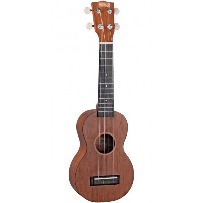 MAHALO KAHIKO SOPRANO TRANSPARENT BROWN SOPRANO + ACCESSORIES PACK