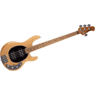 MUSIC MAN STINGRAY HH CLASSIC NATURAL ROASTED MAPLE/MAPLE BLACK