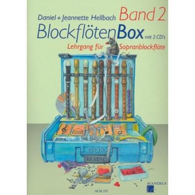 GRAHL & NIKLAS HELLBACH D. - BLOCKFLOTENBOX BAND 2 + 2 CD's