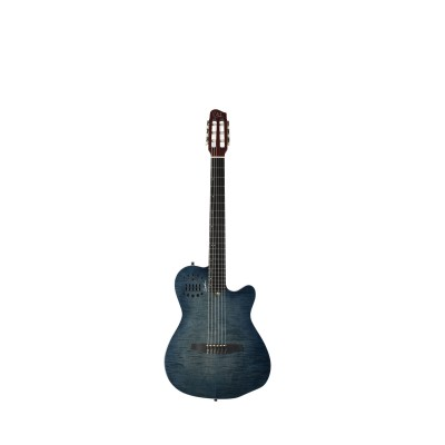 GODIN ACS DENIM BLUE FLAME WITH GIGBAG