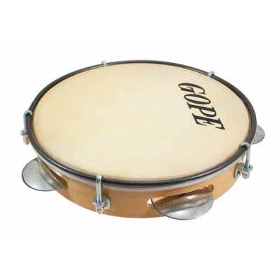 GOPE PERCUSSION GO-PAN8A - PANDEIRO WOOD BASIC 8