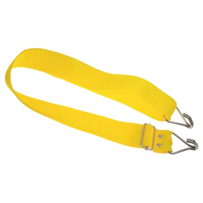 GOPE PERCUSSION STRNYR2-Y - STRAP 2 REINFORCED HOOKS - YELLOW