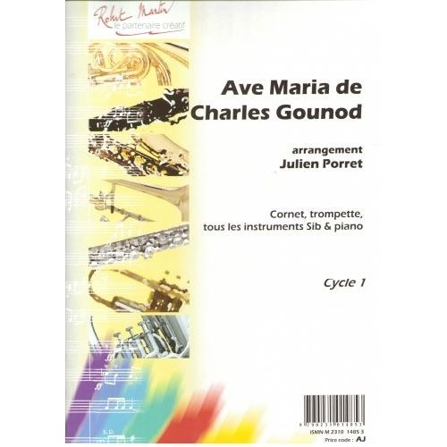 ROBERT MARTIN GOUNOD C. - AVE MARIA, SIB