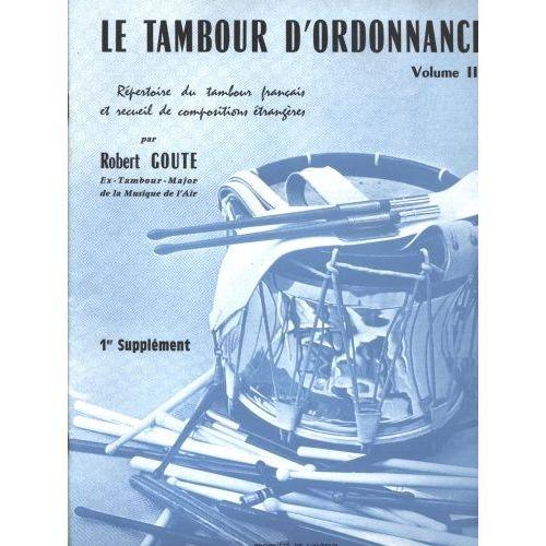 ROBERT MARTIN GOUTE R. - SUPPLÉMENT DU TAMBOUR D'ORDONNANCE N°3