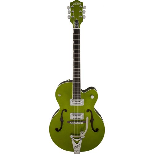 GRETSCH GUITARS G6120SH SETZER HOT ROD TV JONES SETZER SIGNATURE PICKUPS GREEN SPARKLE