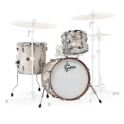 "GRETSCH DRUMS RENOWN MAPLE JAZETTE 18"" VINTAGE PEARL"