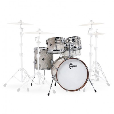 "GRETSCH DRUMS RENOWN MAPLE FUSION 20"" VINTAGE PEARL"