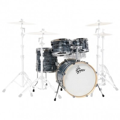 "GRETSCH DRUMS RENOWN MAPLE FUSION 20"" SILVER OYSTER PEARL"