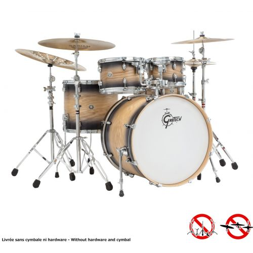 GRETSCH DRUMS CA1-E825-BNB - CATALINA ASH 2014 FUSION STANDARD 22