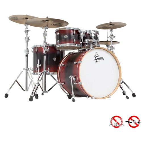 GRETSCH DRUMS CA1-E825-RBB - CATALINA 2014 ASH FUSION STANDARD 22/10/12/16/14x5.5