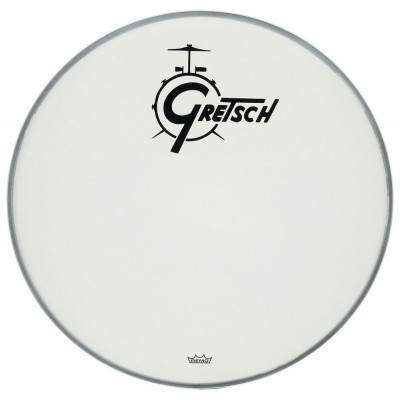GRETSCH DRUMS AMBASSADOR WHITE COATED 24