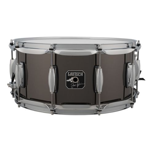 GRETSCH DRUMS S-6514-TH - SIGNATURE TAYLOR HAWKINS 14 X 6.5 BLACK STEEL