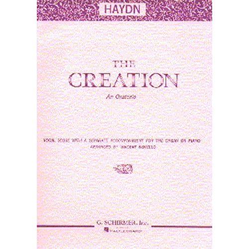 SCHIRMER JOSEPH HAYDN - THE CREATION - SCHIRMER EDITION SOP - TENOR