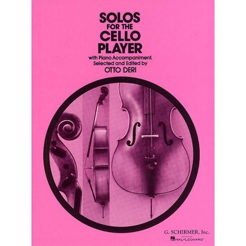 SCHIRMER SOLOS FOR THE CELLO PLAYER - CELLO