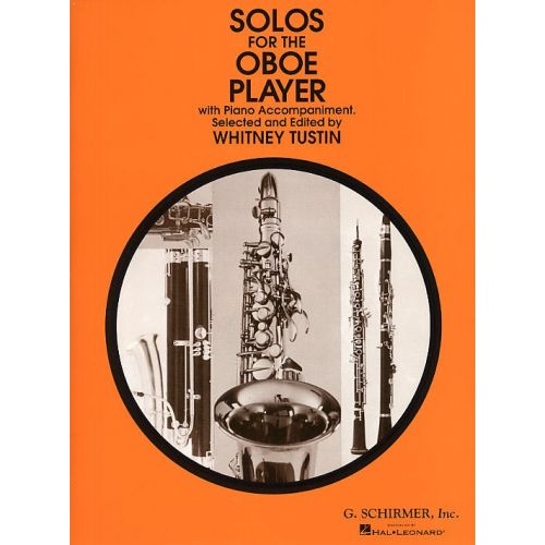 SCHIRMER SOLOS FOR THE OBOE PLAYER - OBOE