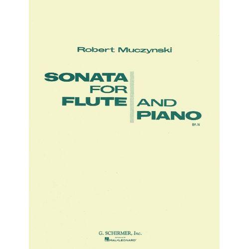 HAL LEONARD MUCZYNSKI - SONATA FOR FLUTE AND PIANO OP.14