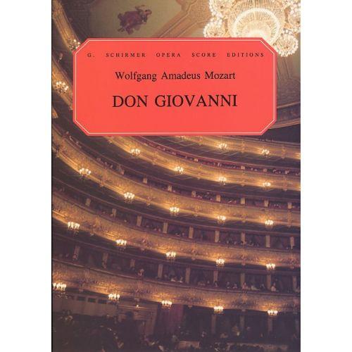 SCHIRMER W.A. MOZART DON GIOVANNI OPERA - CHORAL