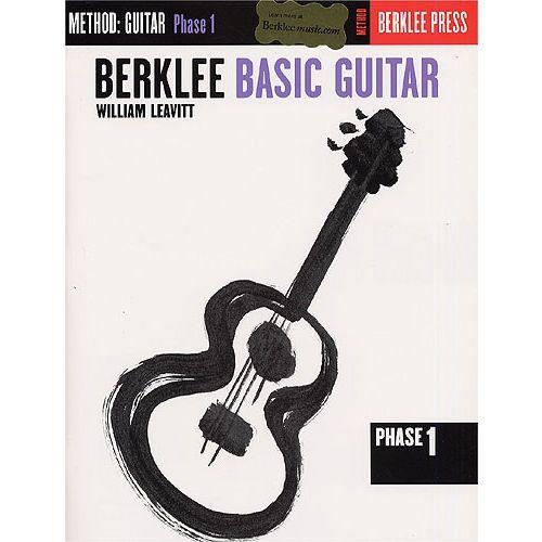 SCHIRMER BERKLEE BASIC GUITAR PHASE 1 - GUITAR