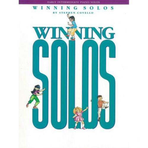 SCHIRMER STEPHEN COVELLO - WINNING SOLOS - PIANO SOLO