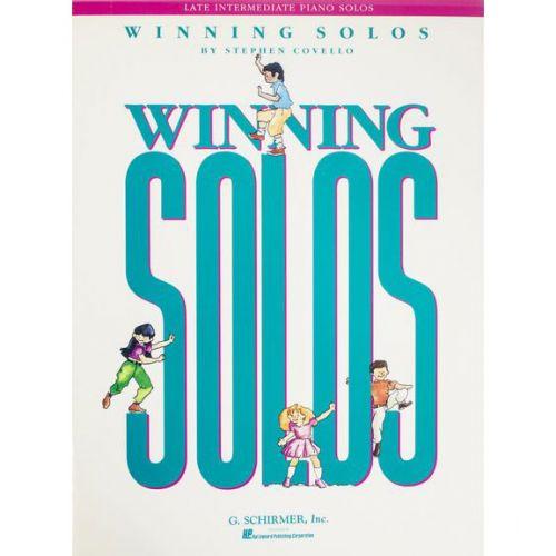 SCHIRMER STEPHEN COVELLO WINNING SOLOS - PIANO SOLO