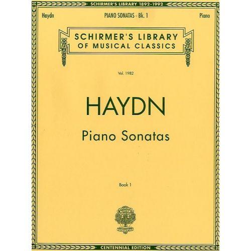 SCHIRMER FRANZ JOSEPH HAYDN - COMPLETE PIANO SONATAS BOOK 1 - PIANO SOLO