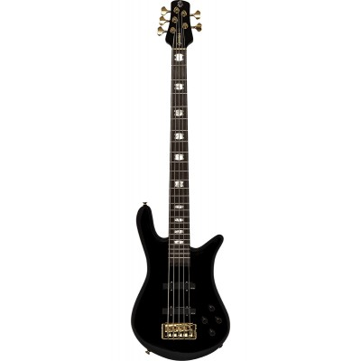 SPECTOR BASS EURO 5 CLASSIC SOLID BLACK GLOSS
