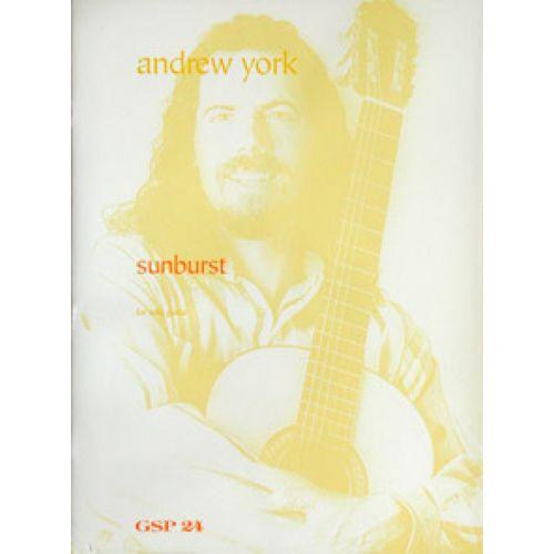 GSP YORK A. - SUNBURST - GUITARE SOLO