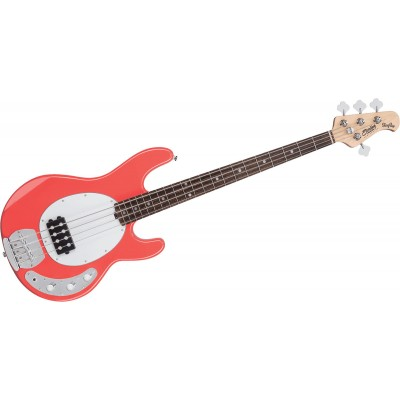 STERLING BY MUSIC MAN STINGRAY IN FIESTA RED