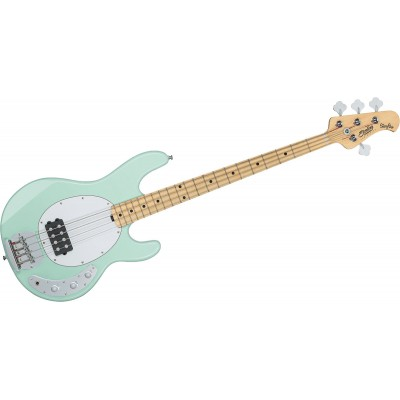 STERLING BY MUSIC MAN STINGRAY IN MINT GREEN