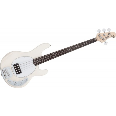 STERLING BY MUSIC MAN STINGRAY IN VINTAGE CREAM