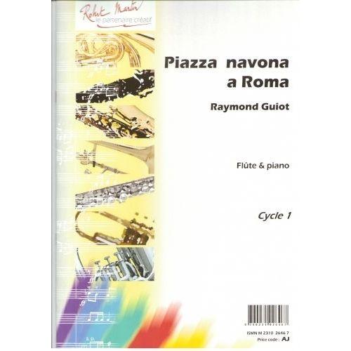 ROBERT MARTIN GUIOT - PIAZZA NAVONA A ROMA