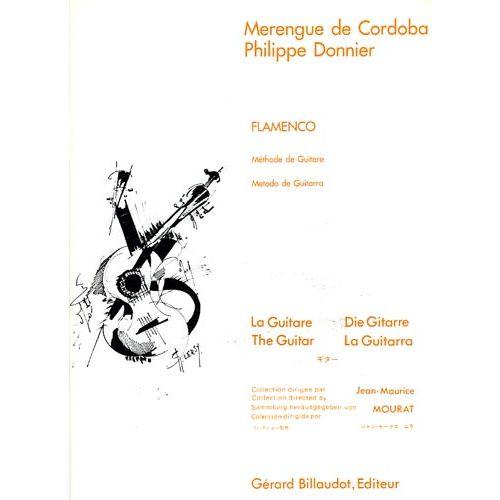 BILLAUDOT MERENGUE DE CORDOBA - FLAMENCO METHODE DE GUITARE