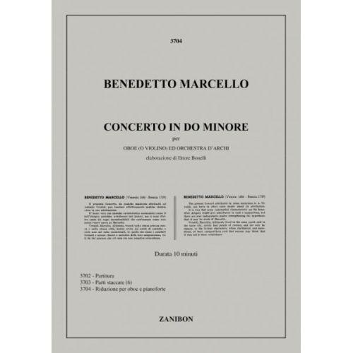RICORDI MARCELLO B. - CONCERTO IN DO M. - HAUTBOIS ET PIANO