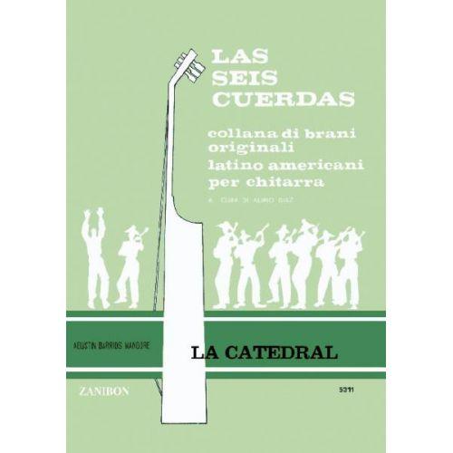 RICORDI BARRIOS MANGORE A. - CATEDRAL CON PRELUDIO - GUITARE