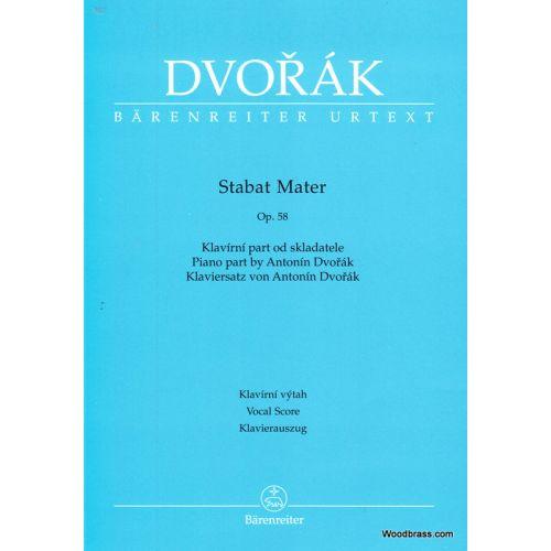 BARENREITER DVORAK A. - STABAT MATER - CHOEUR ET PIANO