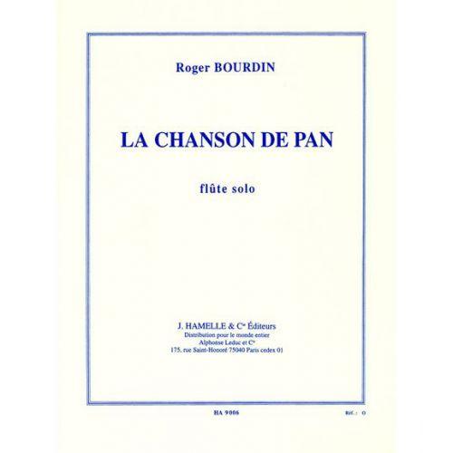 LEDUC BOURDIN R. - LA CHANSON DE PAN - FLUTE SOLO