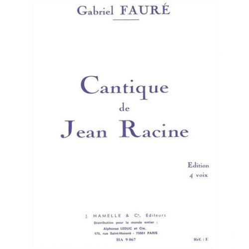 HAMELLE EDITEURS FAURE G. - PAVANE OP.50 - CHOEUR