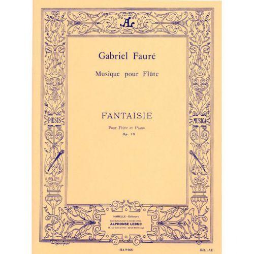 LEDUC FAURE G. - FANTAISIE OP.79 - FLUTE, PIANO