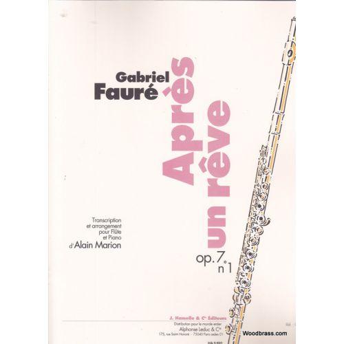 LEDUC FAURE G. - APRES UN REVE op.7,1 - FLUTE ET PIANO