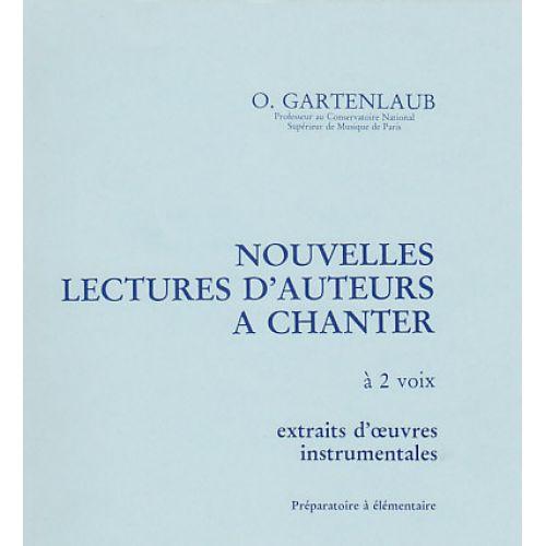 HORTENSIA GARTENLAUB O. - 40 LECTURES DE CLES (2,3 OU 4 CLES)