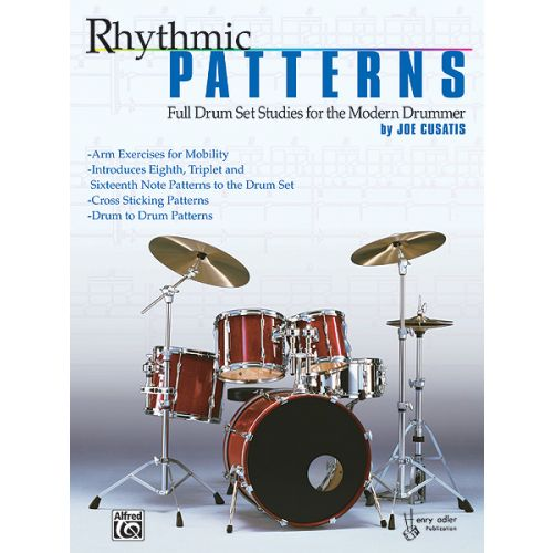ALFRED PUBLISHING RHYTHMIC PATTERNS DRUM SET - DRUMS & PERCUSSION