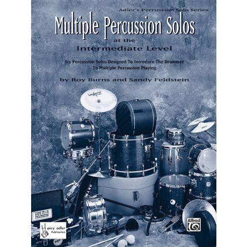 ALFRED PUBLISHING BURNS ROY - MULTIPLE PERCUSSION SOLOS - PERCUSSION SOLO