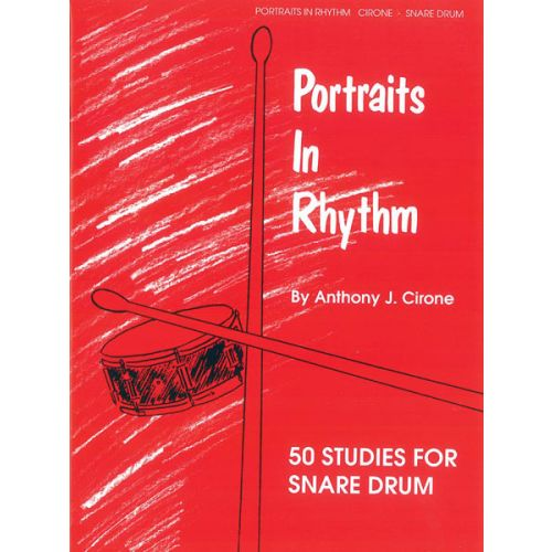 ALFRED PUBLISHING CIRONE ANTHONY J. - PORTRAITS IN RHYTHM - DRUMS & PERCUSSION