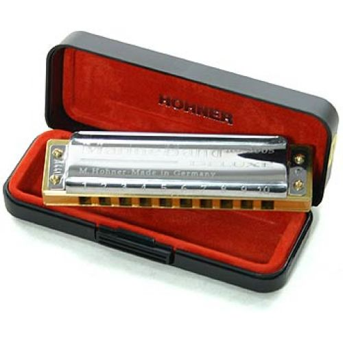 HOHNER DIATONICO 2005/20 MARINE BAND DELUXE 10 AGUJEROS D RE
